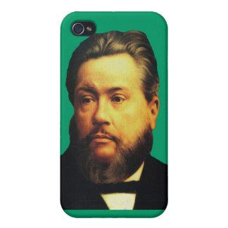 Caso de Charles H Spurgeon iPhone4 en Soli Deo Glo iPhone 4 Funda