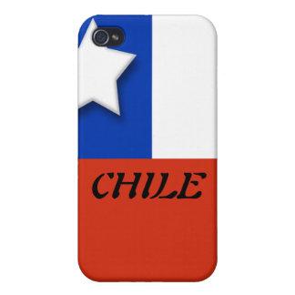 Caso de Chile Iphone 4 iPhone 4/4S Fundas