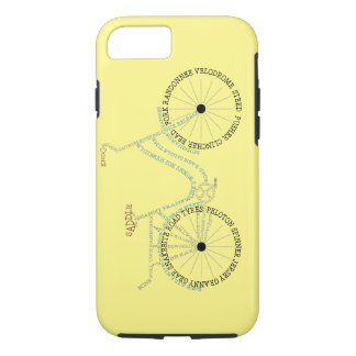 Caso de ciclo Biking del iPhone 7 de la bicicleta Funda iPhone 7