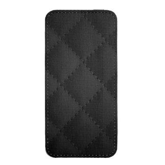 Caso de costura de la cubierta de la puntada de bolsillo para iPhone