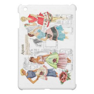 Caso de costura del iPad del modelo del delantal