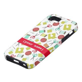 Caso de costura retro del iPhone 5 iPhone 5 Carcasa