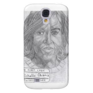 Caso de Credle S5 Michelle Obama Funda Para Galaxy S4