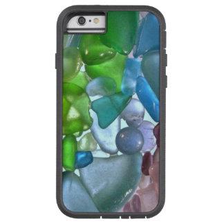 Caso de cristal del iPhone 6 del mar