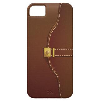 Caso de cuero con clase del iPhone 5 de la mirada iPhone 5 Carcasa