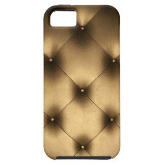Caso de cuero copetudo elegante del iPhone de la Funda Para iPhone SE/5/5s