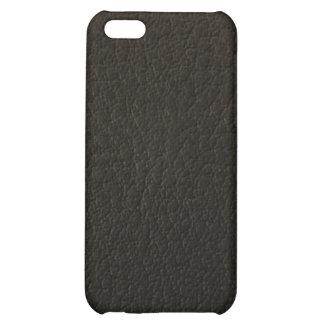 caso de cuero del iphone 3d