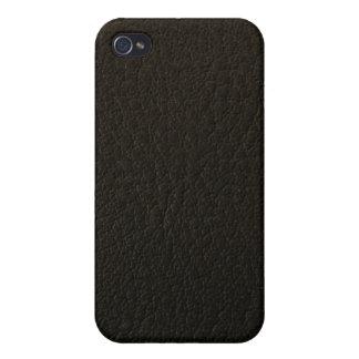 caso de cuero del iphone 3d iPhone 4/4S carcasa