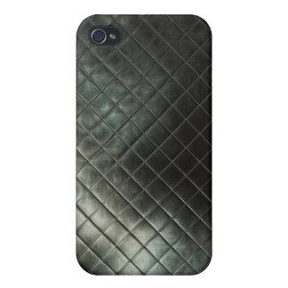 caso de cuero del iphone 3d iPhone 4 funda