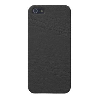 caso de cuero del iphone 3d iPhone 5 funda