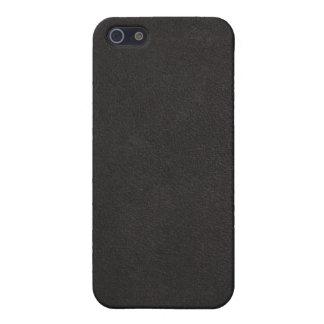 caso de cuero del iphone 3d iPhone 5 cárcasa