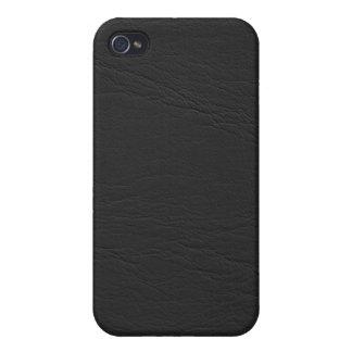 caso de cuero del iphone 3d iPhone 4 cárcasa