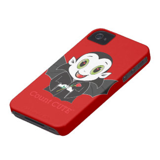 Caso de Cute® Blackberry de la cuenta Case-Mate iPhone 4 Funda