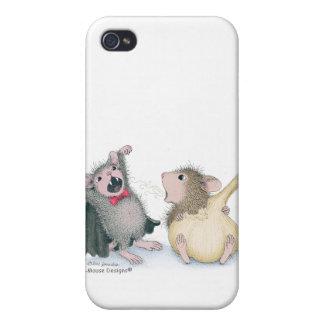 Caso de Designs® IPHONE 4 del Casa-Ratón iPhone 4 Funda