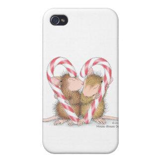 Caso de Designs® IPHONE 4 del Casa-Ratón iPhone 4/4S Funda