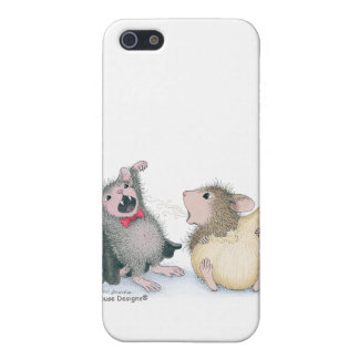 Caso de Designs® IPHONE 4 del Casa-Ratón iPhone 5 Coberturas