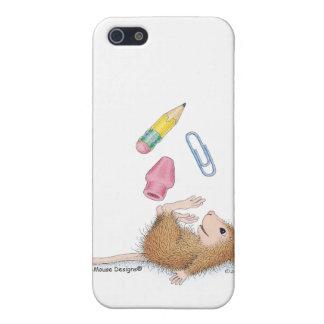 Caso de Designs® IPHONE 4 del Casa-Ratón iPhone 5 Cárcasa