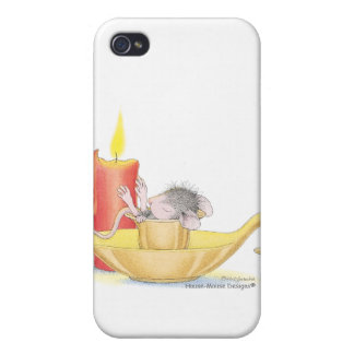 Caso de Designs® IPHONE 4 del Casa-Ratón iPhone 4/4S Fundas