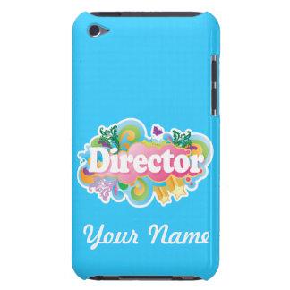 Caso de director Custom Turquoise Music iPod Case-Mate iPod Touch Cobertura