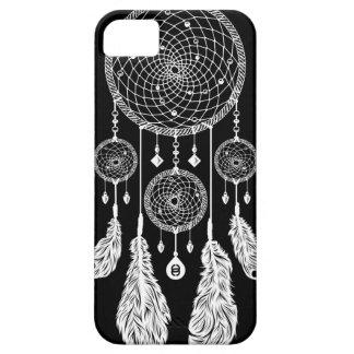 Caso de Dreamcatcher - de Iphone 5/5S (negro) iPhone 5 Carcasa