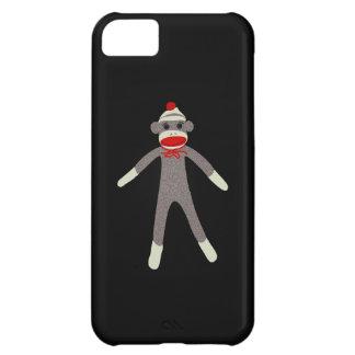 Caso de Droid del mono del calcetín Funda iPhone 5C