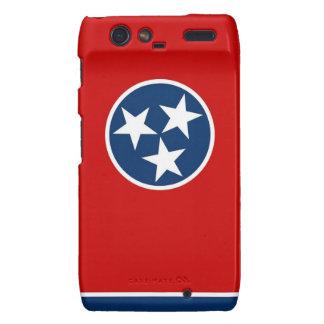 Caso de Droid RAZR con la bandera de Tennessee, lo Droid RAZR Carcasas