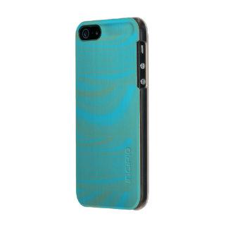 Caso de Effect> IPhone 5/5S del remolino del verde Funda Para iPhone 5 Incipio Feather Shine