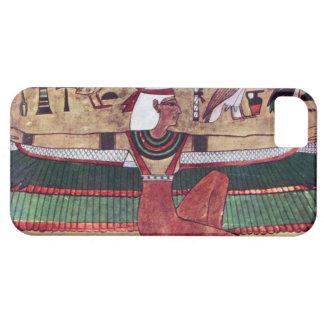 Caso de Egipto antiguo IPhone 5 de la diosa de Funda Para iPhone SE/5/5s