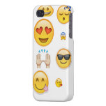 Caso de Emoji Iphone 4/4s iPhone 4/4S Fundas
