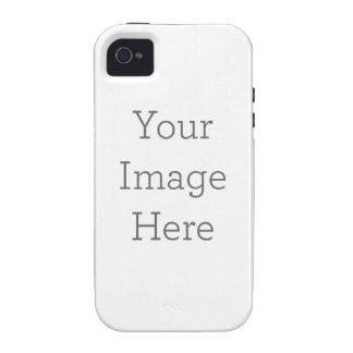 Caso de encargo de Barely There del iPhone 4 iPhone 4/4S Carcasa