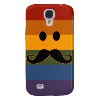 Caso de encargo de HTC del orgullo del bigote Funda Samsung S4