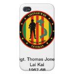 Caso de encargo de IPhone 4 militares del veterano iPhone 4 Protectores