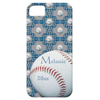 Caso de encargo de Iphone 5 del adorno del béisbol iPhone 5 Carcasas