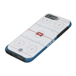 Caso de encargo de la pista del hockey funda resistente iPhone 6