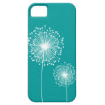 Caso DE ENCARGO del COLOR de la flor moderna del d iPhone 5 Case-Mate Cárcasa