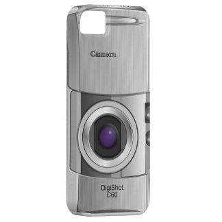 Caso de encargo del estilo de la cámara digital iPhone 5 carcasas
