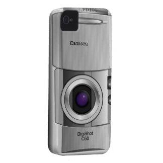 Caso de encargo del estilo de la cámara digital iPhone 4 Case-Mate cárcasas