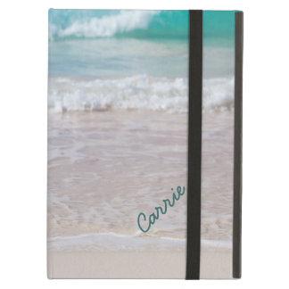 Caso de encargo del iPad de la foto de la playa co