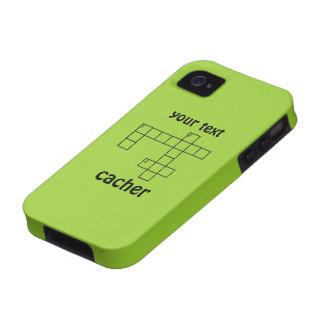 Caso de encargo del iphone 4 de Cacher del rompeca iPhone 4 Fundas