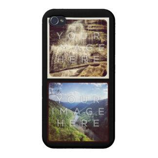 Caso de encargo del iPhone 4 de la foto de Instagr iPhone 4 Cárcasa