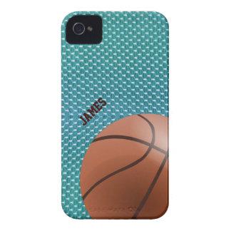 Caso de encargo del iPhone 4 del baloncesto iPhone 4 Case-Mate Coberturas