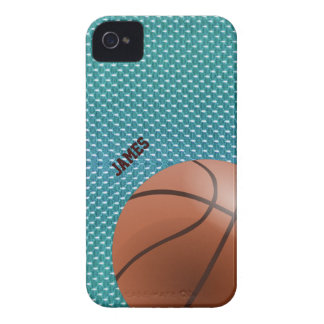 Caso de encargo del iPhone 4 del baloncesto Funda Para iPhone 4 De Case-Mate