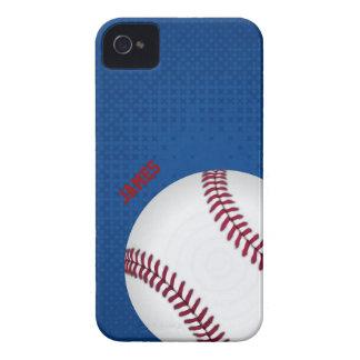 Caso de encargo del iPhone 4 del béisbol iPhone 4 Case-Mate Coberturas