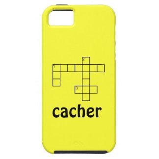 Caso de encargo del iphone 5 de Cacher Geocaching Funda Para iPhone 5 Tough