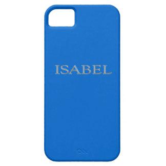 Caso de encargo del iPhone 5 de Isabel iPhone 5 Fundas