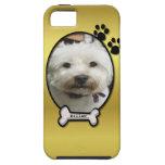 Caso de encargo del iPhone 5 de la foto del perro  iPhone 5 Case-Mate Fundas