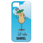 Caso de encargo del iPhone 5 de la nuez del golf iPhone 5 Cobertura