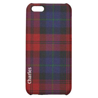 Caso de encargo del iPhone 5 de la tela escocesa d