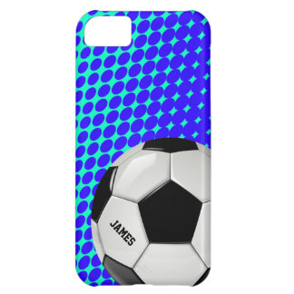 Caso de encargo del iPhone 5 del balón de fútbol Funda Para iPhone 5C
