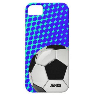 Caso de encargo del iPhone 5 del balón de fútbol Funda Para iPhone SE/5/5s